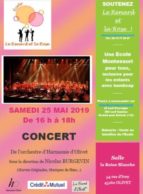 Évènement le 25 mai : Concert au profit de l'Association
